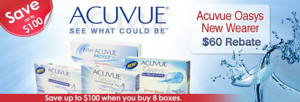Acuvue Rebate Offer