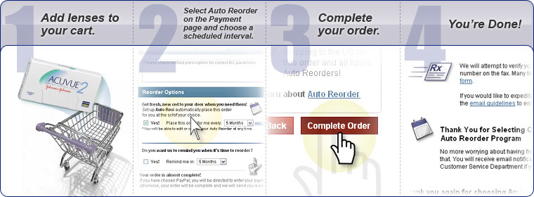Auto Reorder Steps
