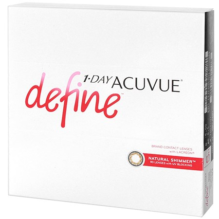 Acuvue 1-DAY ACUVUE DEFINE 90 Pack contacts