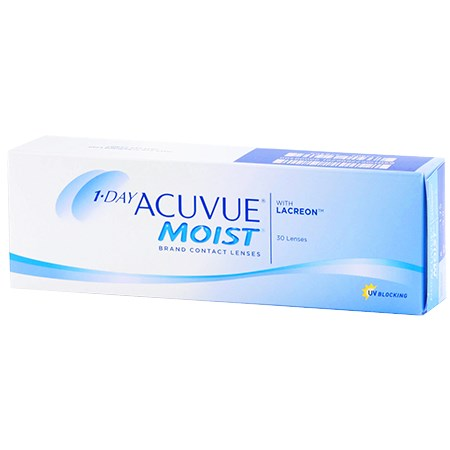 Acuvue 1-DAY ACUVUE MOIST 30 Pack contacts