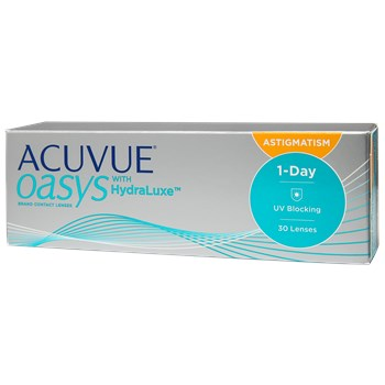 Acuvue Oasys 1 Day For Astigmatism 30 Pack Contact Lenses