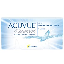 ACUVUE OASYS contact lenses