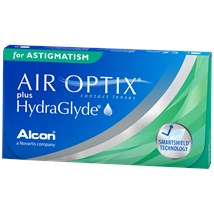 AIR OPTIX plus HydraGlyde for Astigmatism contact lenses