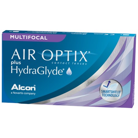 Air Optix Plus Hydraglyde Multifocal Contact Lenses By