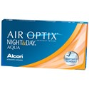 AIR OPTIX NIGHT & DAY AQUA Contact Lenses (Click to View)