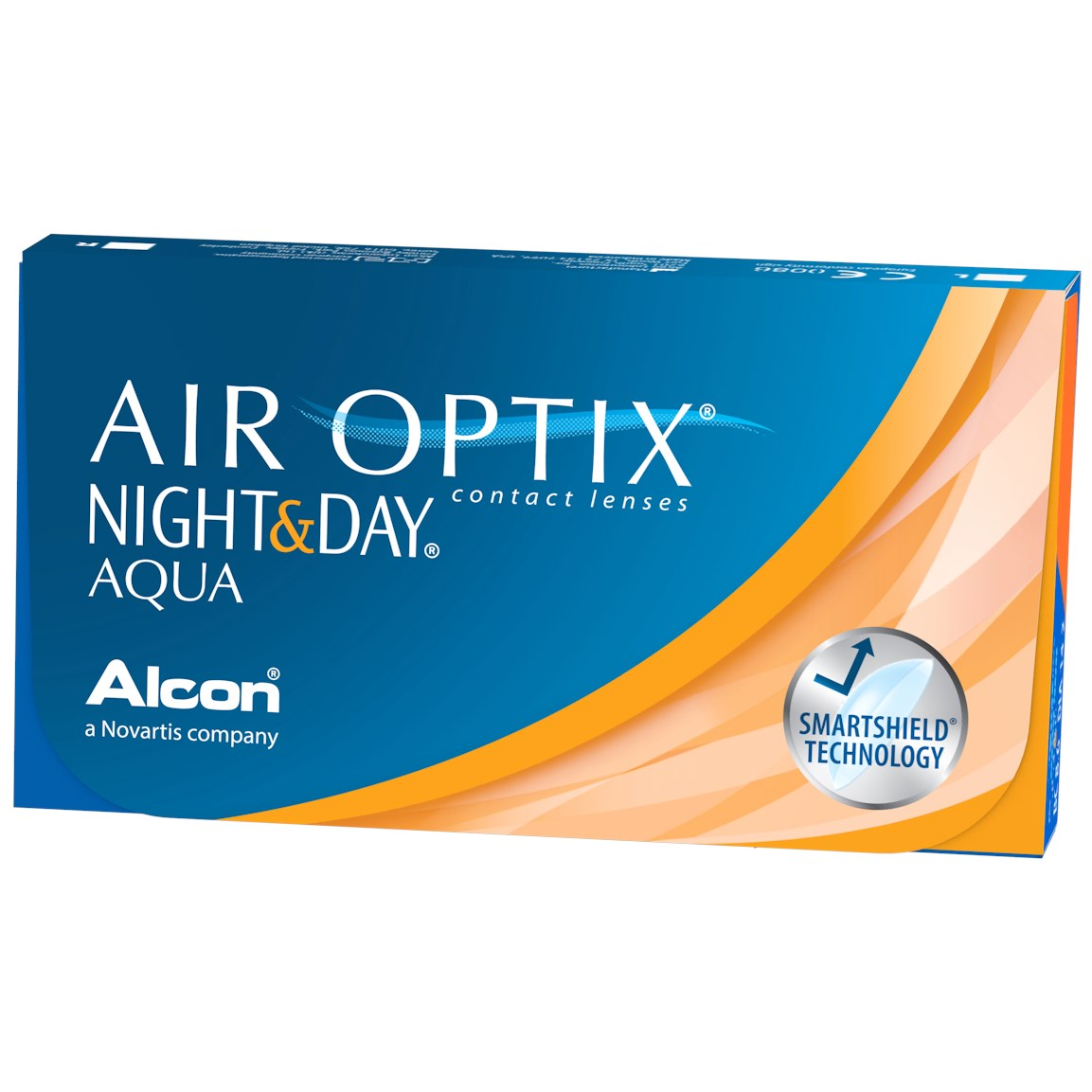 AIR OPTIX NIGHT & DAY AQUA contact lenses