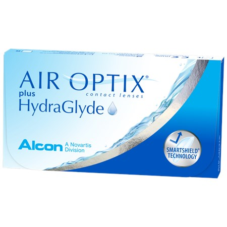 AIR OPTIX plus HydraGlyde Subscription 3-Pack contacts