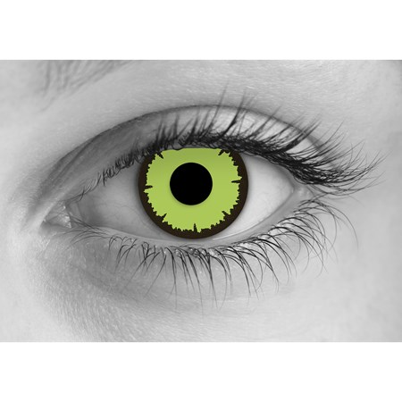 Special Effects Angelic Green contacts