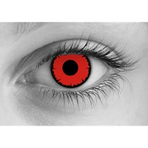 angelic red contact lenses