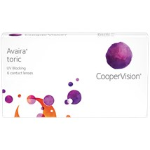 Avaira Toric contact lenses