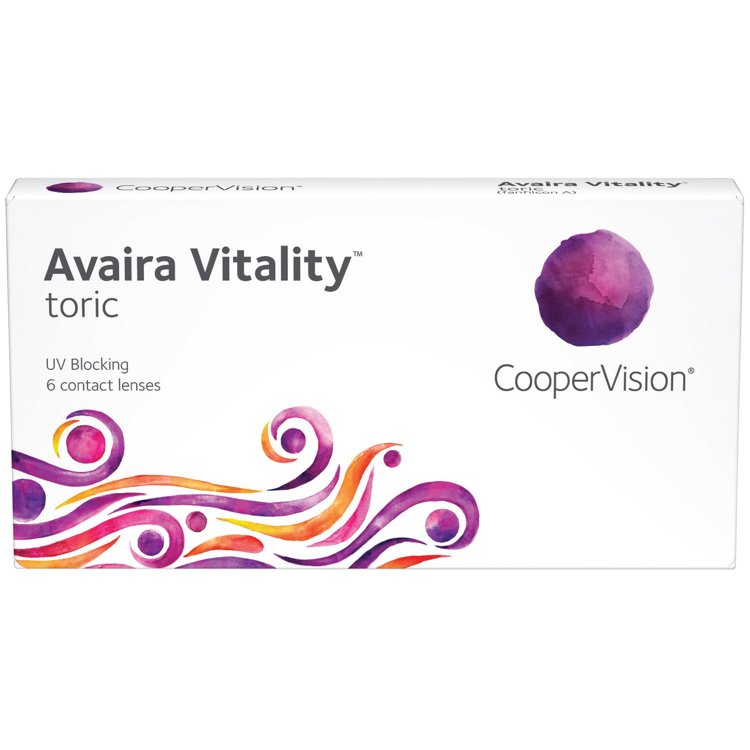 Avaira Vitality Toric contact lenses