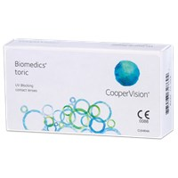 Biomedics toric contact lenses