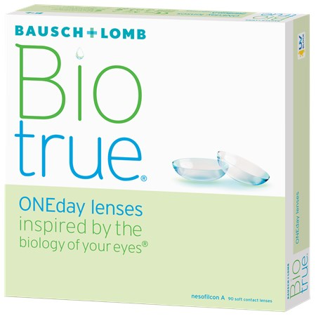 Biotrue ONEday (90 pack) contacts