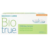 Biotrue ONEday for Astigmatism (30 pack) contact lenses