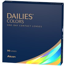 DAILIES Colors 90 Pack contact lenses
