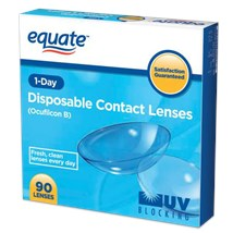 Equate 1-Day 90 Pack contact lenses