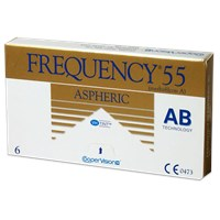 Frequency 55 Aspheric Contact Lenses