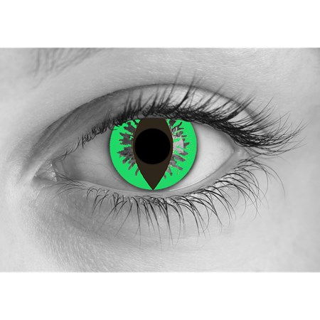 Special Effects Green Reptile contacts