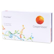 Proclear sphere contact lenses