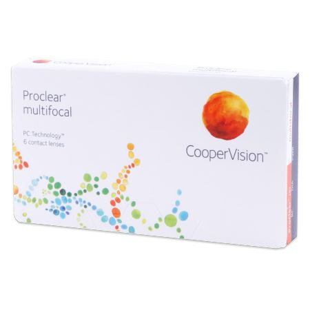 Proclear multifocal contacts