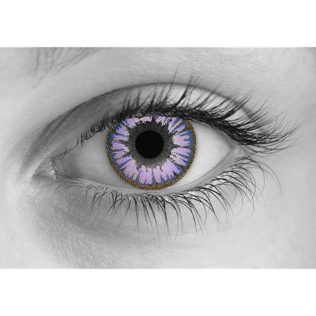 Special Effects Violent Violet contacts