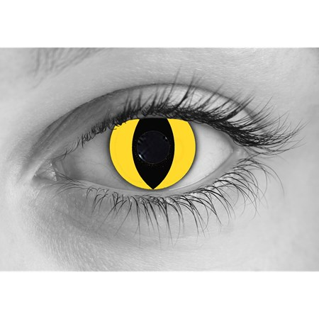 Special Effects Yellow Cat contacts