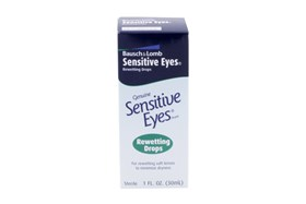 Bausch and Lomb Sensitive Eyes Contact Lens Rewetting Drops (1 fl. oz.)
