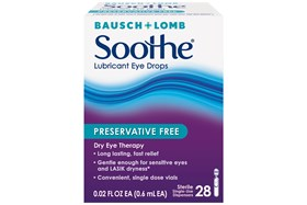 Bausch and Lomb Soothe Lubricant Eye Drops (28 ct.)