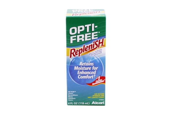 Opti-Free Replenish (4 fl. oz.) SolutionsCleaners