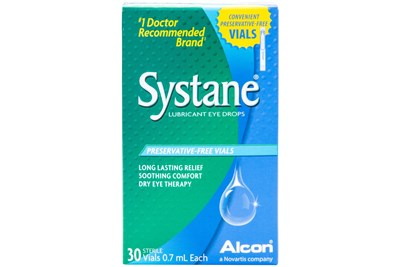 Systane Preservative Free Drops 30ct