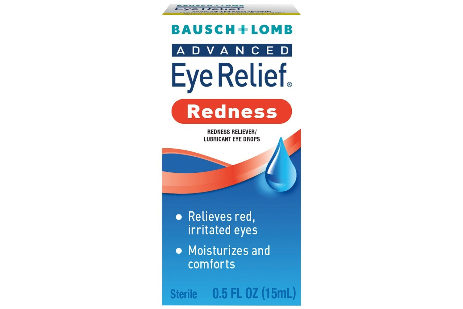 Bausch & Lomb Advanced Eye Relief Redness Instant Relief  Eye Drops (.5 fl oz)