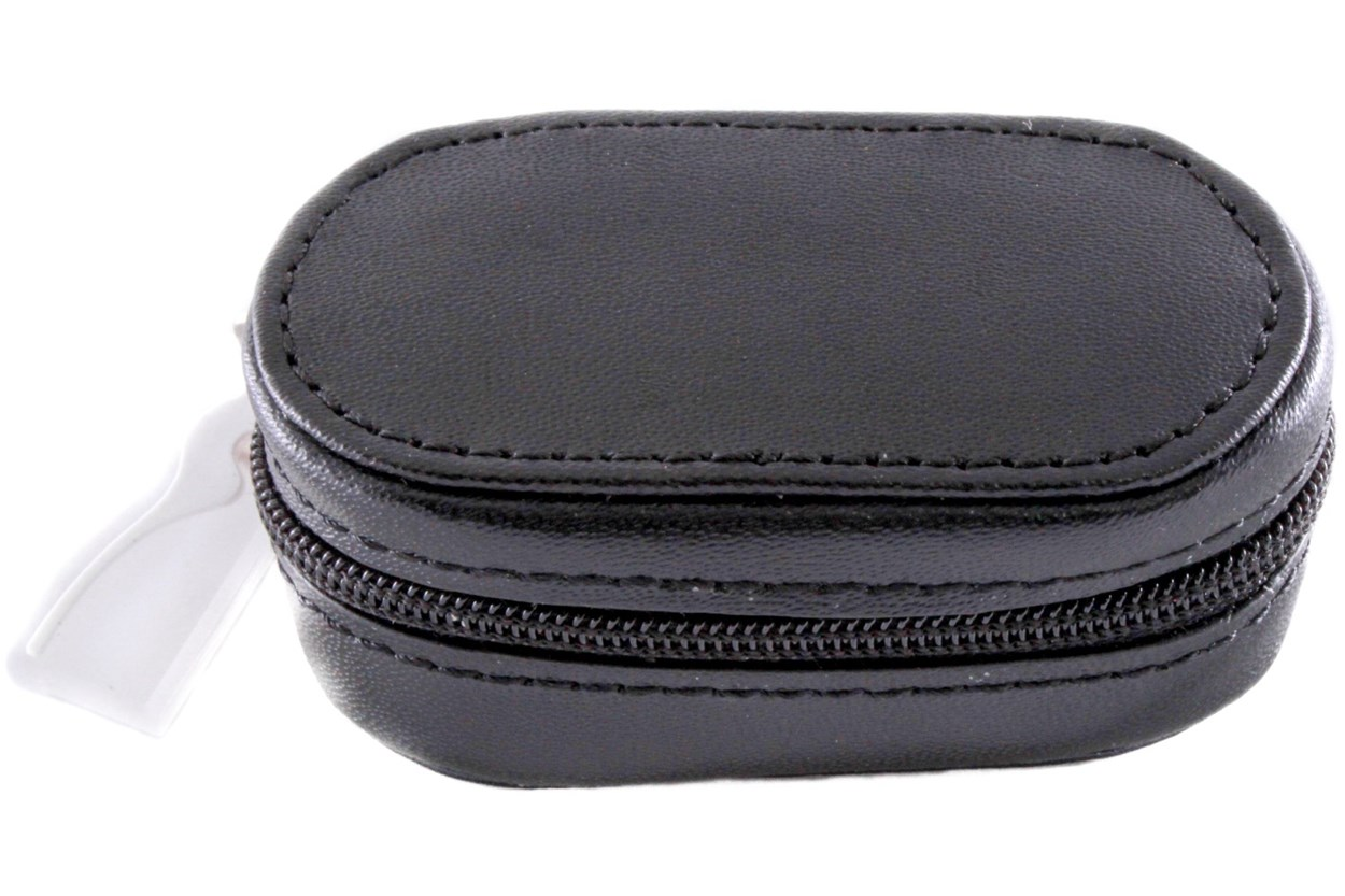 Amcon Leather Contact Lens Cases Cases - Black