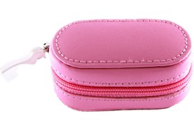 Amcon Leather Contact Lens Cases Pink