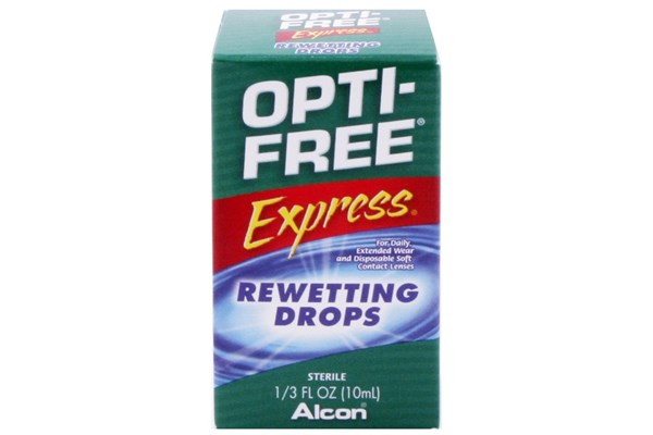 Opti-Free Express Rewetting Drops (.33 fl oz. ) DryRedEyeTreatments