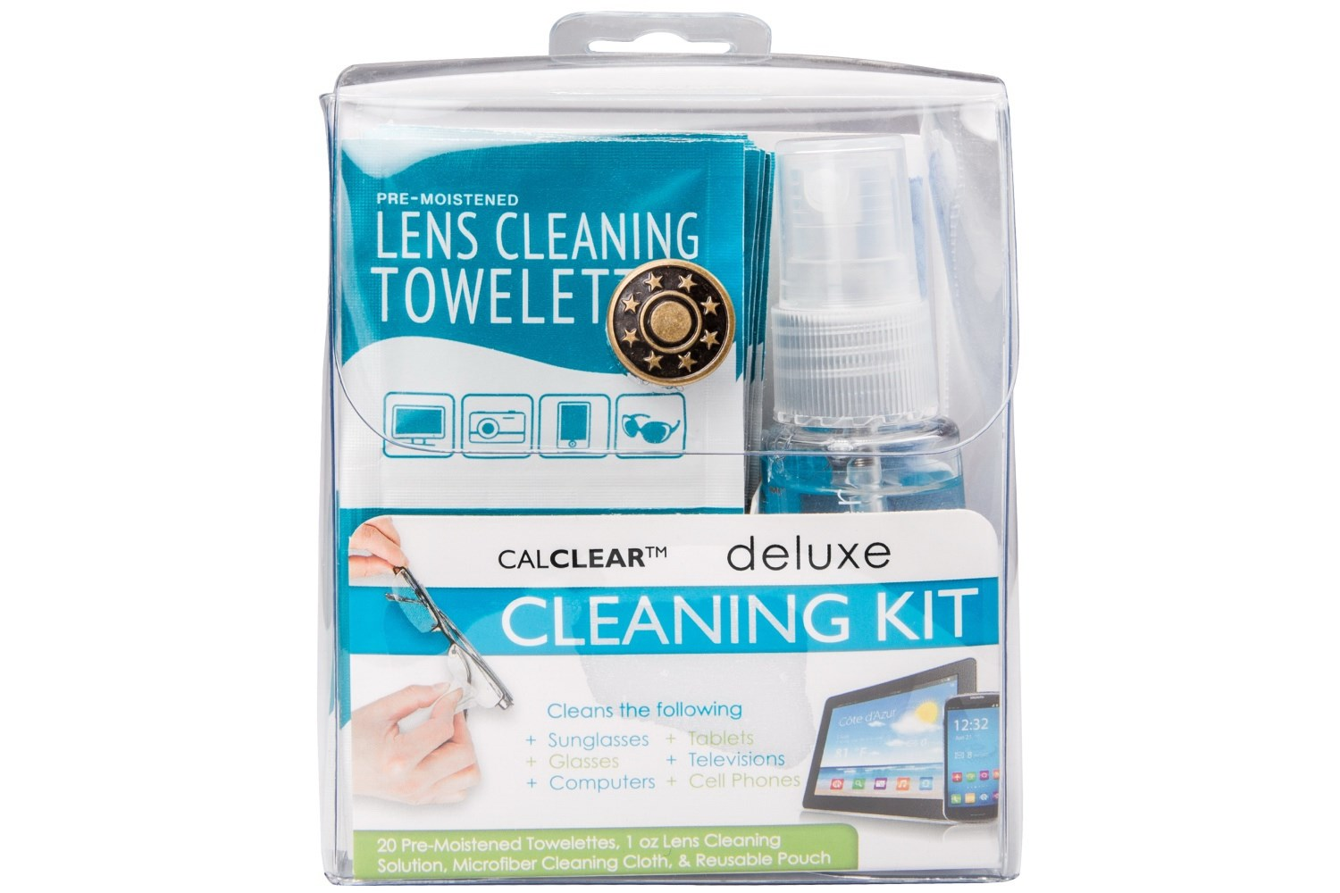 Deluxe Eyeglasses and Sunglasses Cleaning Kit