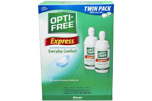 Opti-Free Express Multi-Purpose Solution Twin Pack SolutionsCleaners