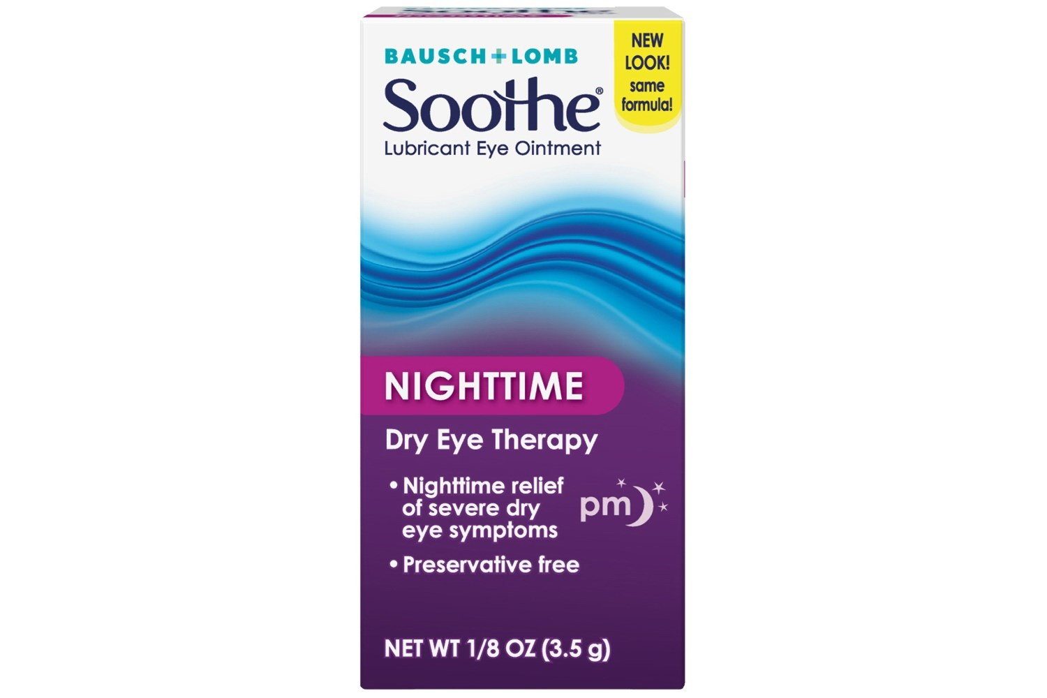 Bausch & Lomb Soothe Night Time Lubricant Eye Ointment (.12 fl. oz.)
