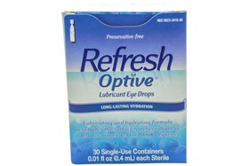 Refresh Optive Preservative-Free Eye Drops (30 ct.)