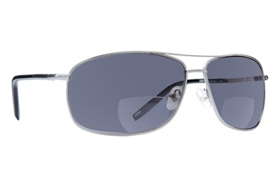 Foster Grant Accuracy Men's Reading Sunglasses Gray