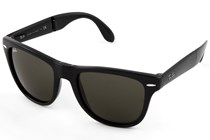Ray-Ban® RB4105 54 Folding Wayfarer