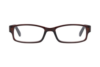 Xtravision Derick Men's Reader with Cases (2 pack) Brown