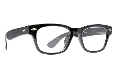 Peepers Clark Kent Men's Reading Glasses Black