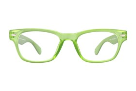 Peepers Rainbow Bright Reading Glasses Green