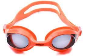 Splaqua Tinted Prescription Swimming Goggles Orange