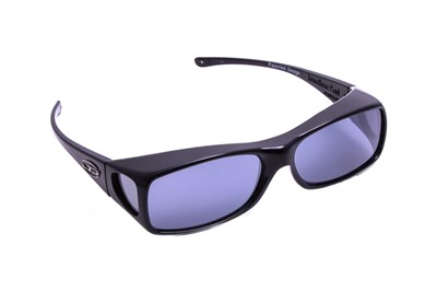 Fitovers Eyewear Aria - Over Glasses for Rectangle Frames Black