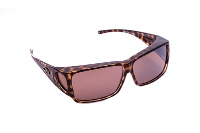 Fitovers Eyewear Orion - Over Prescription Sunglasses Brown