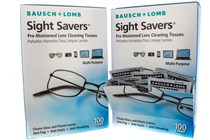 Bausch and Lomb Sight Savers Pre-Moistened Eyeglasses Cleansing Tissue (200 Towelette)