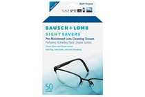 Bausch and Lomb Sight Savers Pre-Moistened Cleansing Tissues (50 Towelettes)