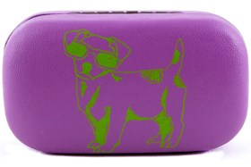 Paws n Claws Contact Lens Case Purple