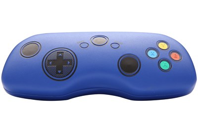 CalOptix Game On Video Games Eyeglasses Case Blue